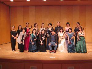 2019年9月23日 「王永徳老師による中級講師試験〜12人の二胡奏者による公開試験コンサート」終了